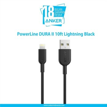DURA II 10ft Lightning Black A8434H11